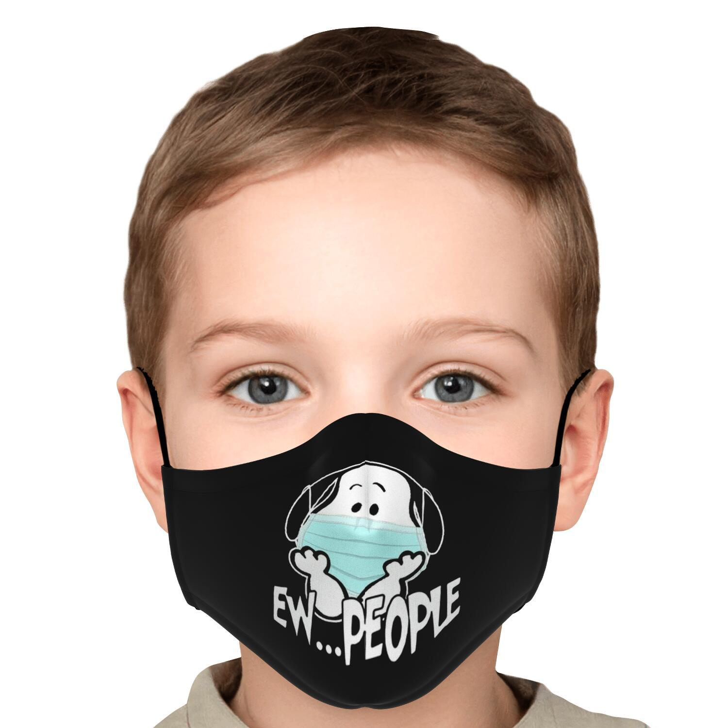 Ew People Snoopy Face Mask 5