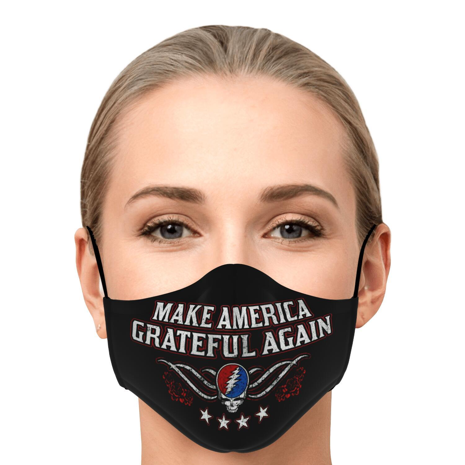 Grateful Dead Make America Grateful Again Face Mask 1