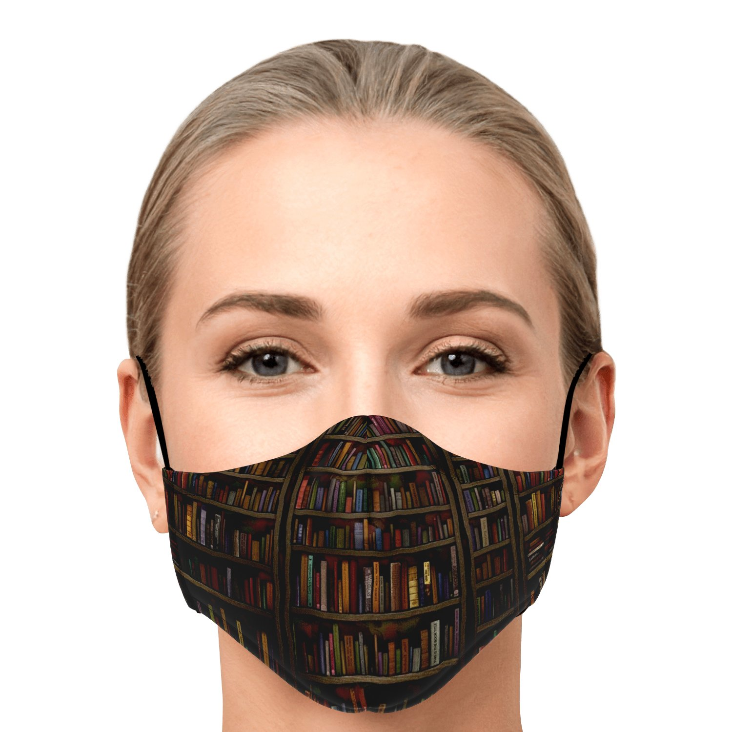 Librarian Old Book Lovers Face Mask 1