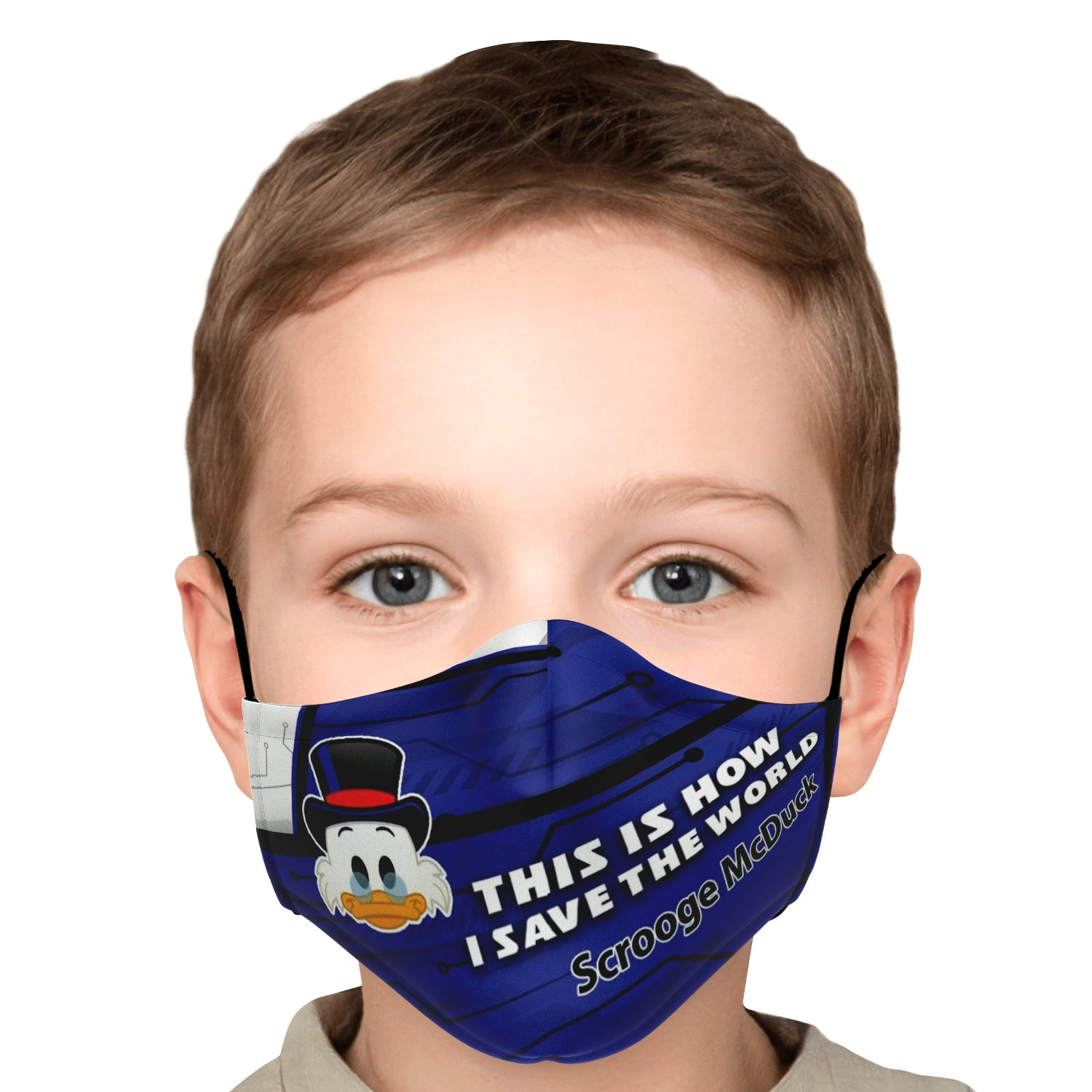 This Is How I Save The World Scrooge McDuck Disney Face Masks 5