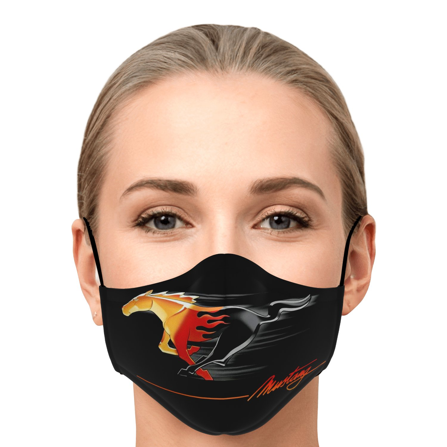 Mustang Face Mask 1