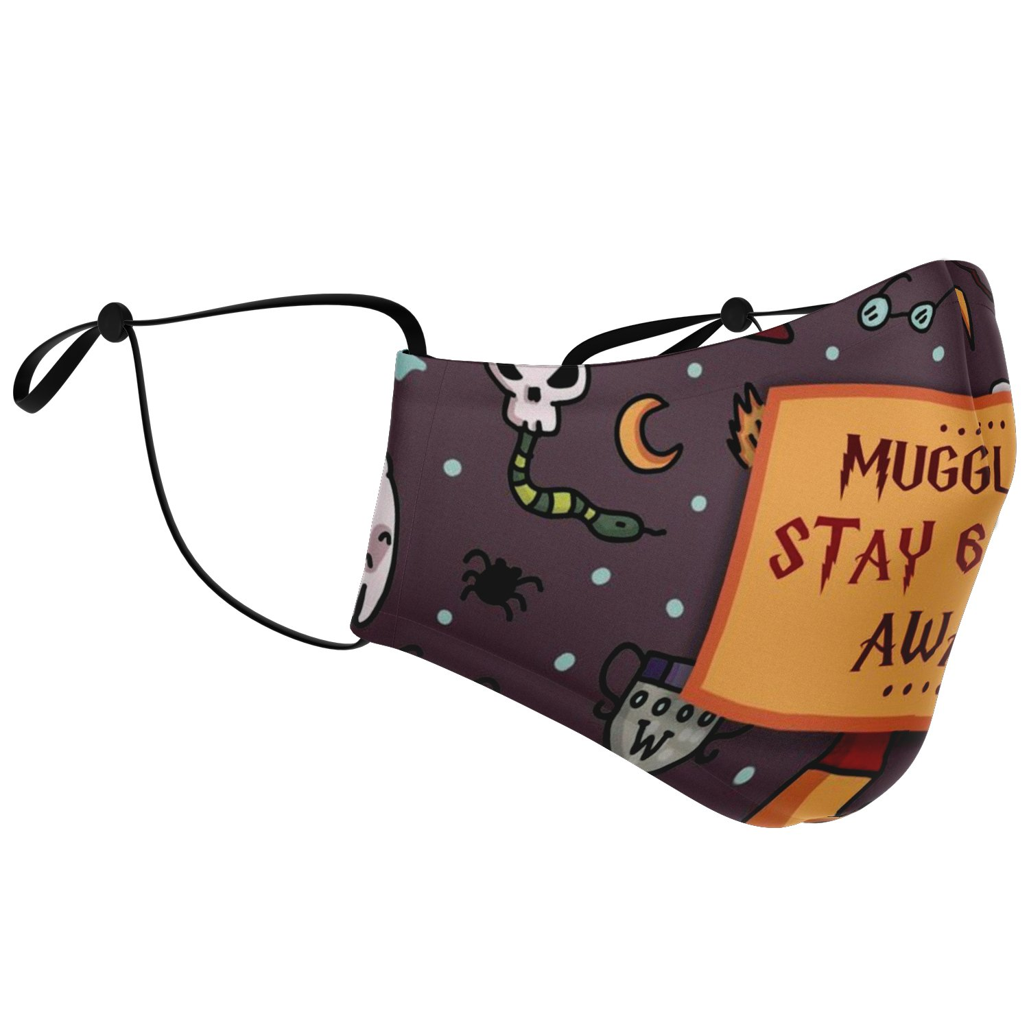 Muggles Stay 6 Feet Away Harry Potter Face Mask 2