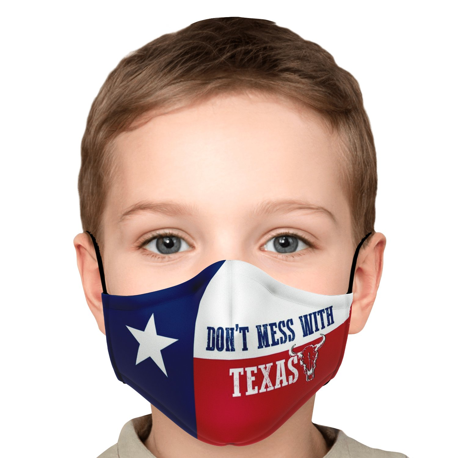 Don't Mess With Texas Face Mask 6
