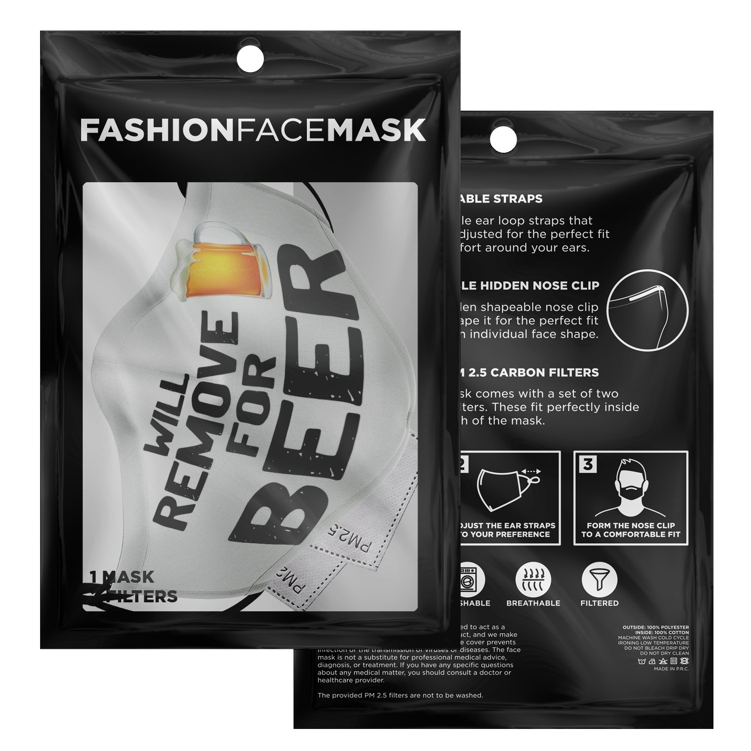 Will Remove For Beer Face Mask 3