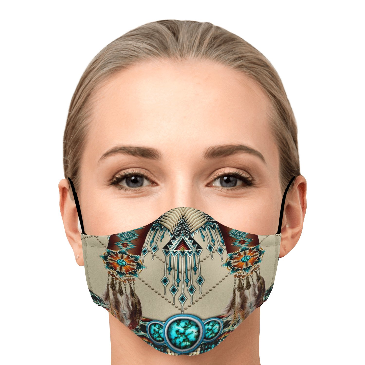 Native American Face Mask 1