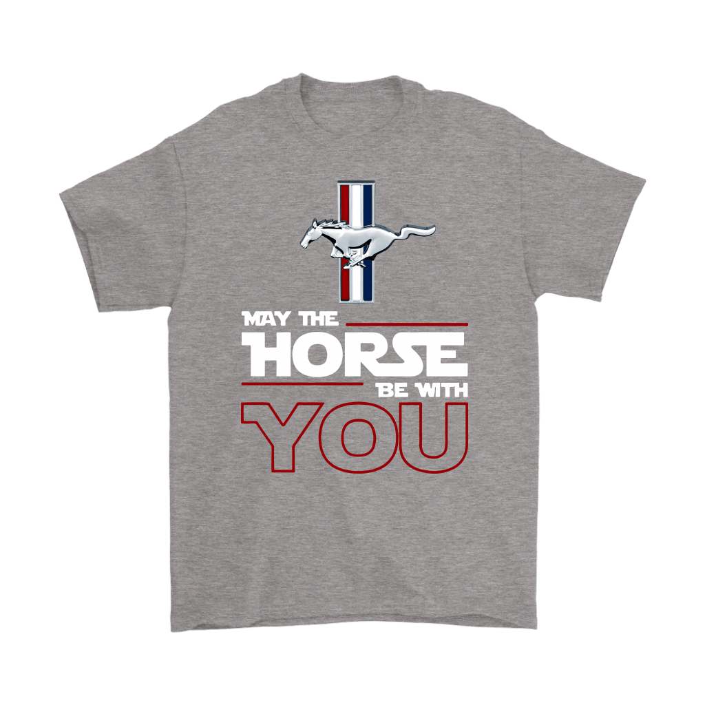 Star Wars May The Horse Be With You Ford Mustang Shirts 5