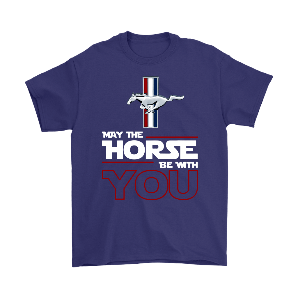 Star Wars May The Horse Be With You Ford Mustang Shirts 3