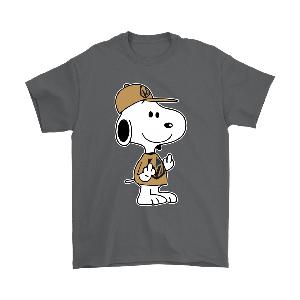Vegas Golden Knights Snoopy Double Middle Fingers Fck You NHL Shirts 2