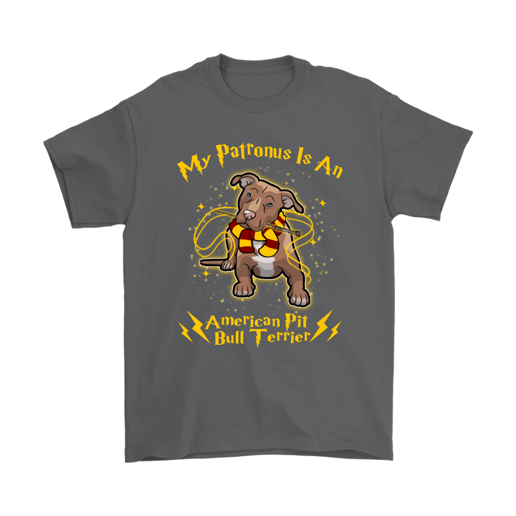 My Patronus Is A American Pit Bull Terrier Harry Potter Dog Shirts 2