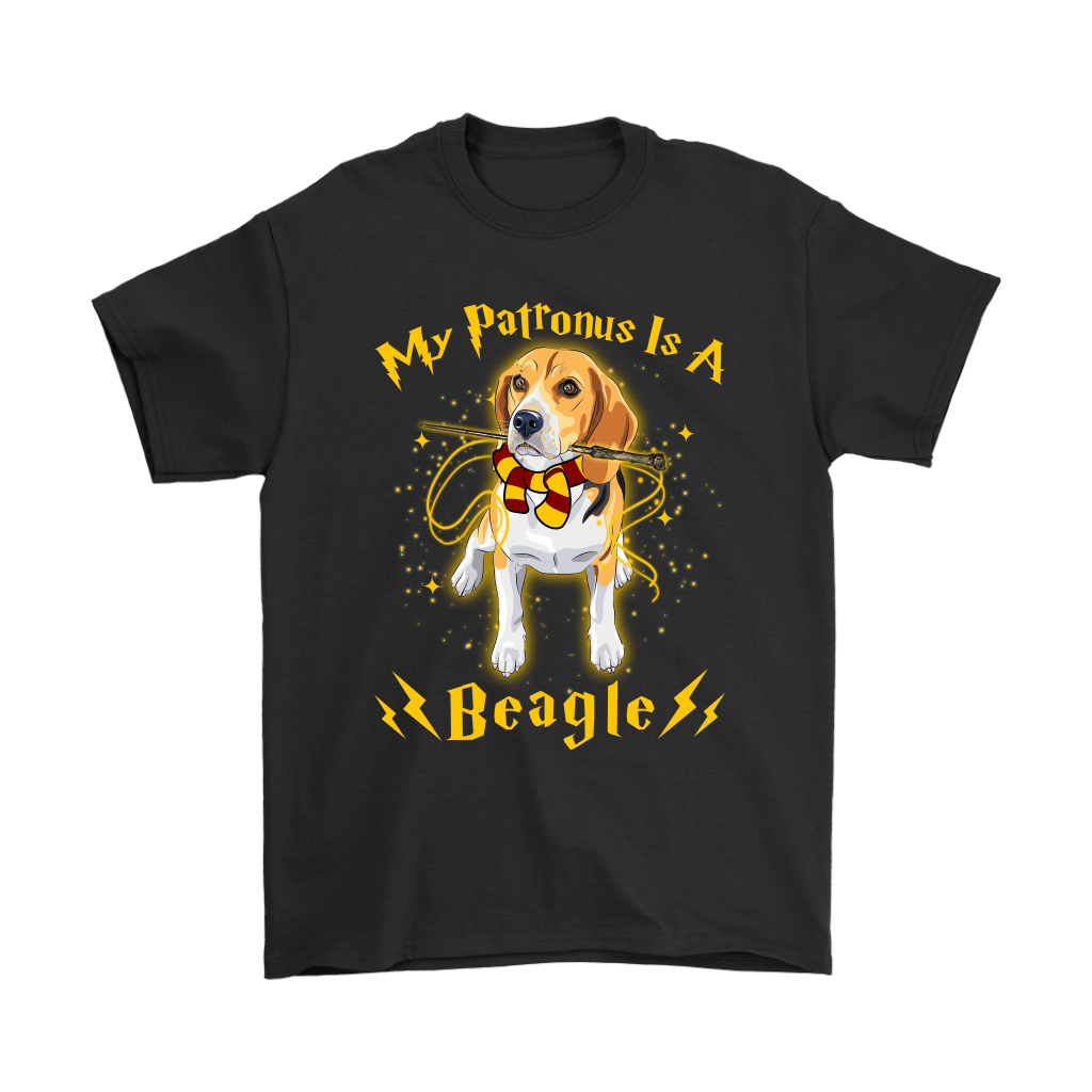 My Patronus Is A Beagle Harry Potter Dog Shirts 1