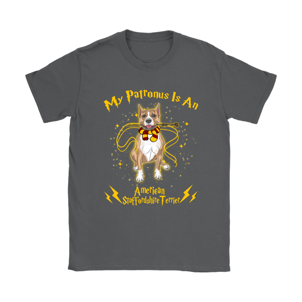 My Patronus Is A American Staffordshire Terrier Harry Potter Dog Shirts 9