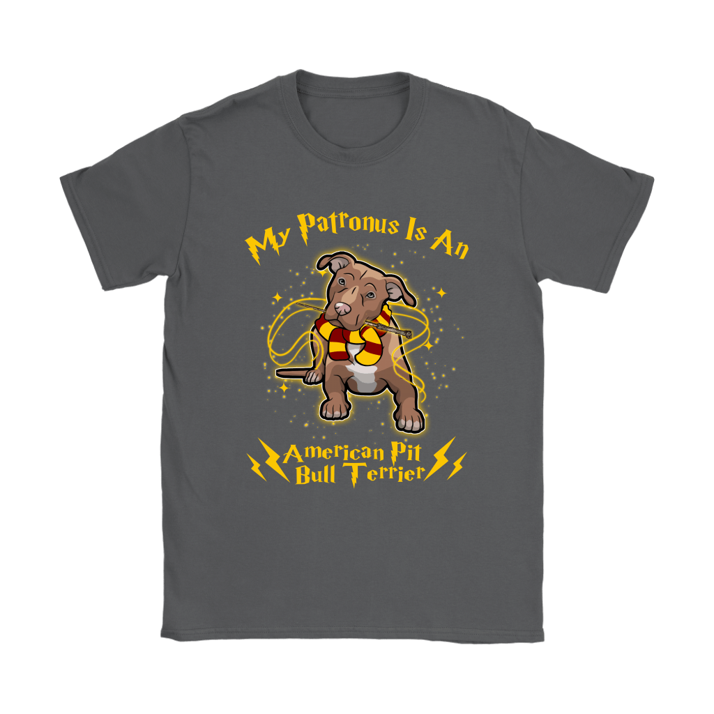 My Patronus Is A American Pit Bull Terrier Harry Potter Dog Shirts 9