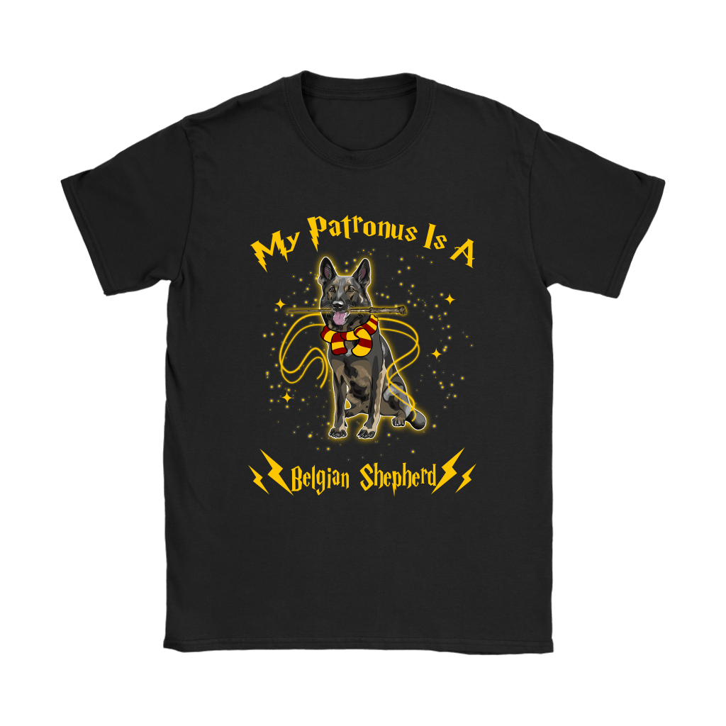 My Patronus Is A Belgian Shepherd Harry Potter Dog Shirts 8