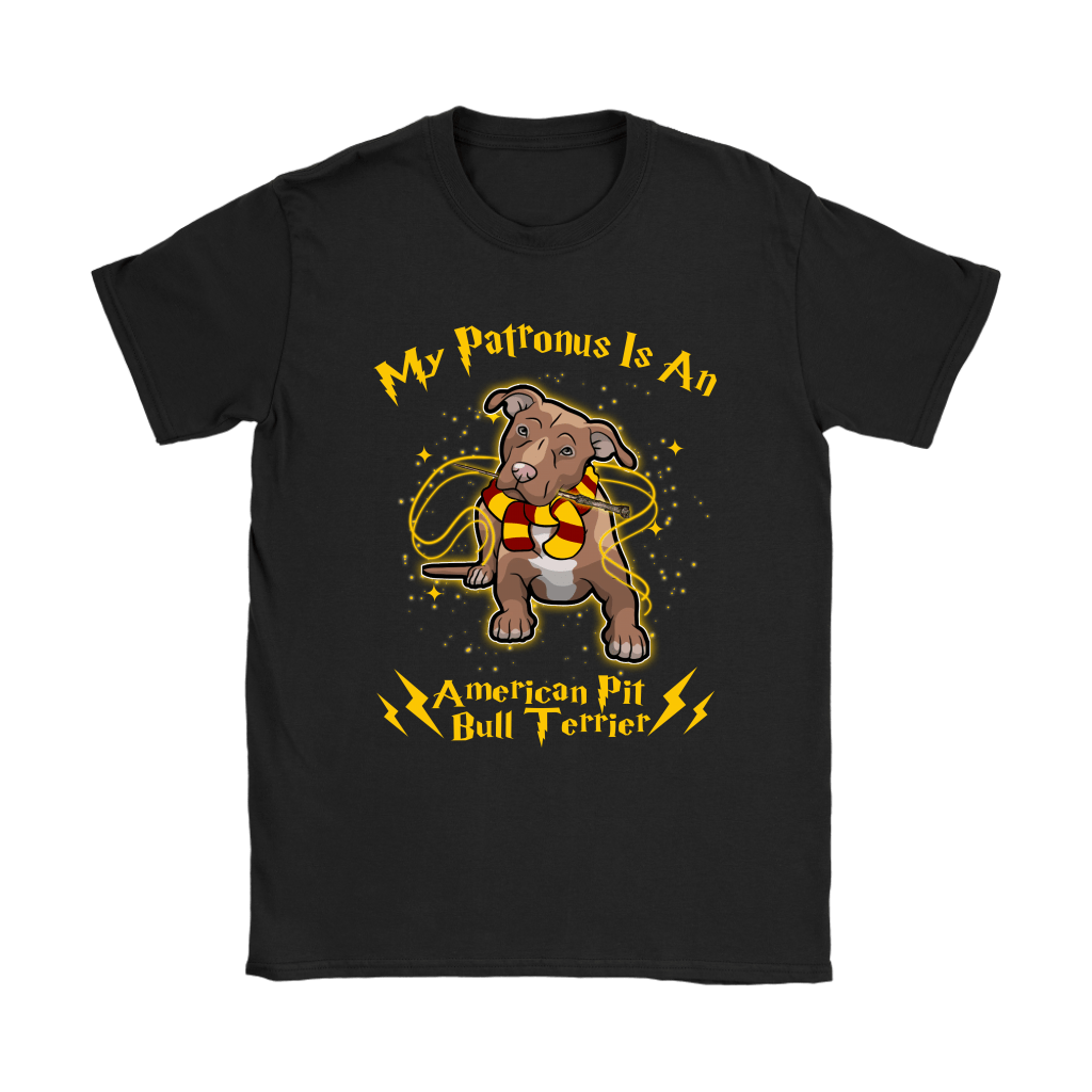 My Patronus Is A American Pit Bull Terrier Harry Potter Dog Shirts 8
