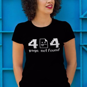 Teeshirt Femme - 404 Page Not Found