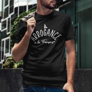Teeshirt Homme - Arrogance à la Française