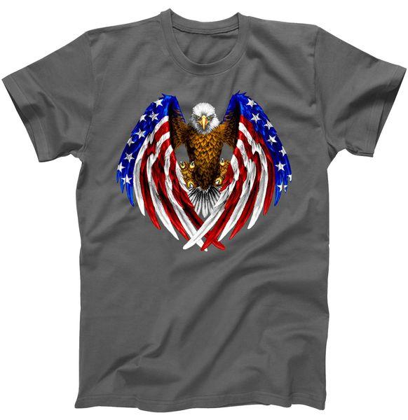 American Flag Eagle T-Shirt, USA, USA T-Shirt