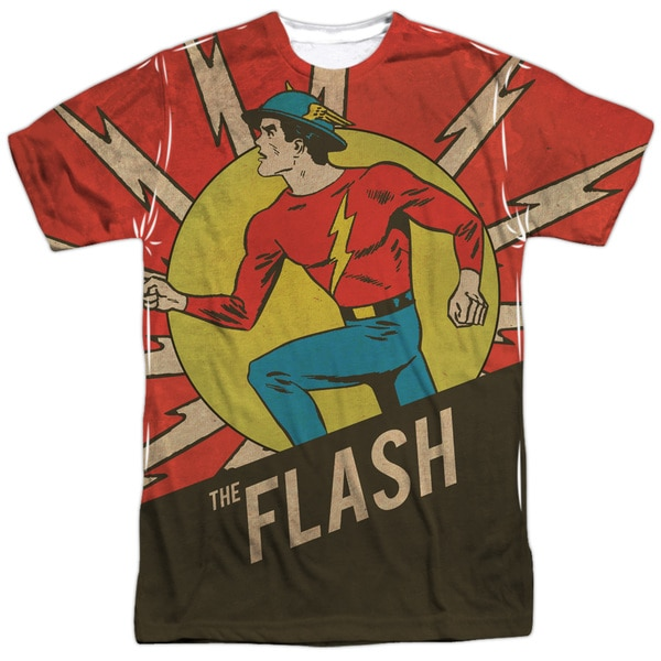 The Flash Vintage Comic Flash Sublimation T-Shirt