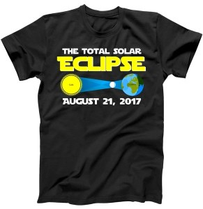 Total Solar Eclipse August 21st, 2017 Celestial Fanatic T-Shirt