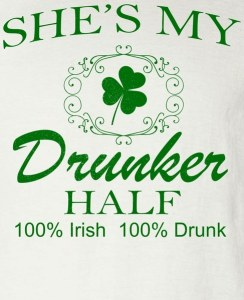 She's My Drunker Half Funny St. Patrick's Day Long Sleeve T-Shirt