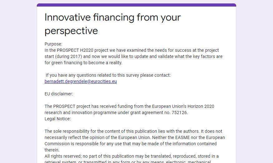 Prospect Survey