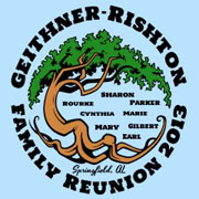 Family reunion tree designs