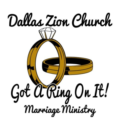 Got a ring on it, Marriage Ministry