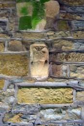 Stanwick Church beak head voussoir