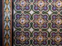 Stanwick Church tiles