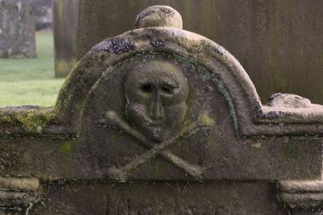 Stanwick Church skull