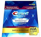 Crest 3D GLAMOROUS WHITE Whitestrips Teeth Dental Whitening Strips NEW