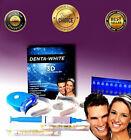 Teeth Whitening Kit – LED Light, White Teeth Gel, Syringe, Whitener Trays System