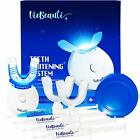 VieBeauti Premium Teeth Whitening Kit with LED Light Effectively Removes Stains