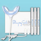 ⭐⭐⭐⭐⭐ Bling my Smile 10 minutes Teeth Whitening Led kit Professional Results