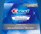 CREST 3D White SUPREME FLEXFIT Whitestrips Teeth Whitening Strips 42 strips