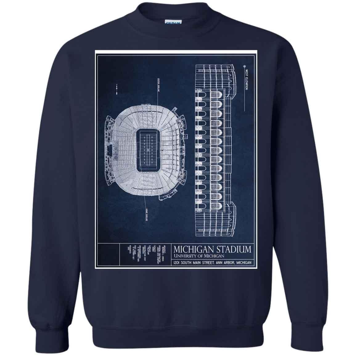 Michigan Stadium Michigan Stadium University Of Michigan Hoodies Sweatshirts 8052fe724
