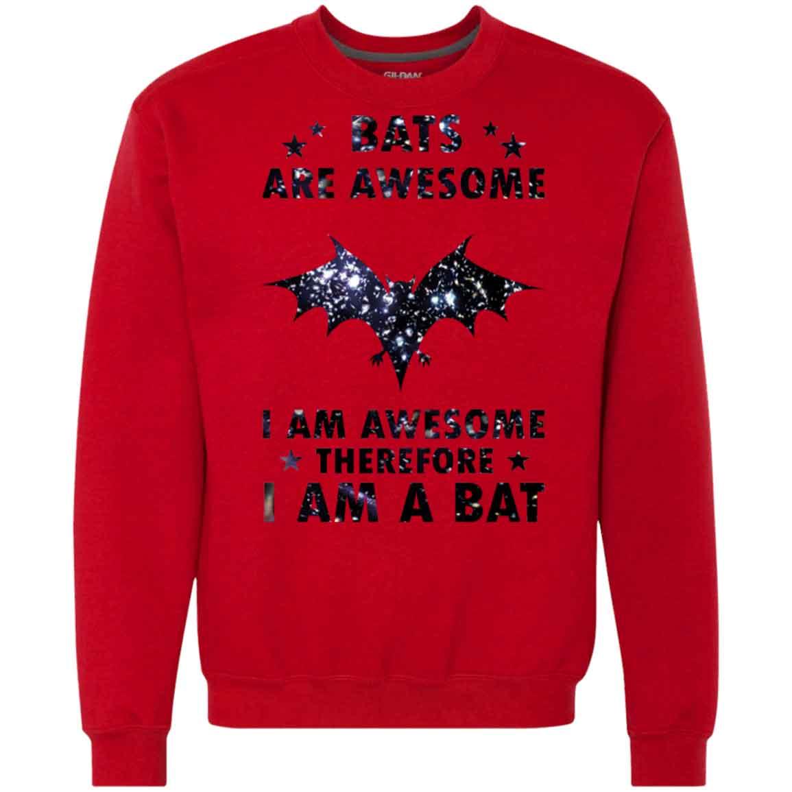 7f7015842 Bat Bats Are Awesome Hoodies Sweatshirts – TeeTrio