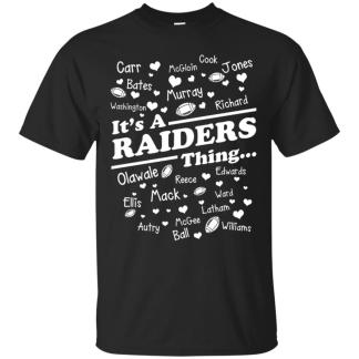 Team Names It's A Raiders Thing Oakland Raiders T shirts Hoodies,  Sweatshirts