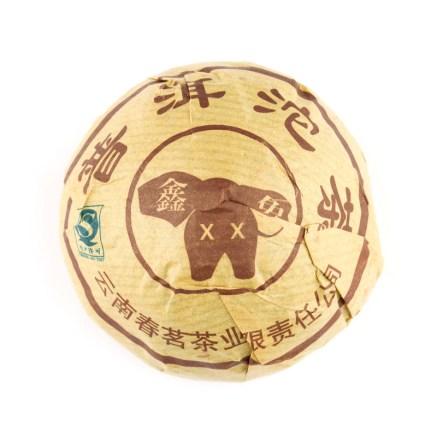 chun ming xin xiang 2013 puerh teekakku