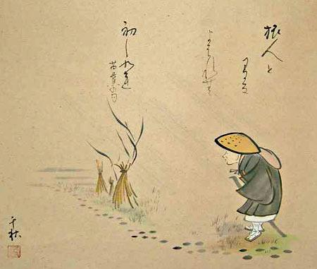 Bashō auf der Wanderschaft
