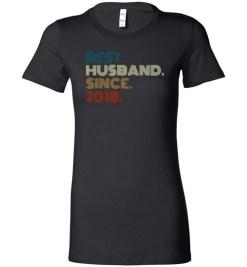 $19.95 – Best Husband Wedding Anniversary Family Lady T-Shirt