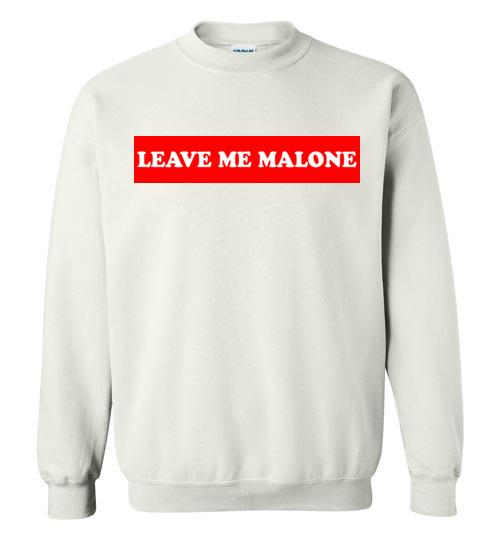 $29.95 – Leave me Malone funny Maleficent Sweatshirt