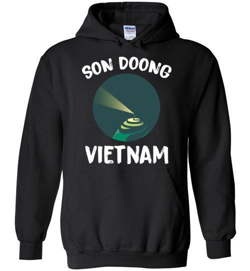 $32.95 – Son Doong Cave In Vietnam Largest Cave In The World Graphic Hoodie
