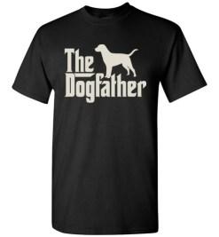 $18.95 – The Dogfather Labrador Retrievers Shirts Funny Dog Dad T-Shirt