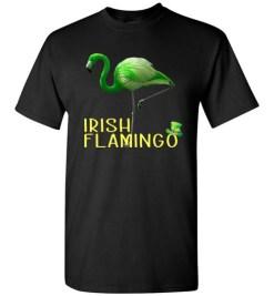 $18.95 – Irish Flamingo Funny St. Patrick Day T-Shirt