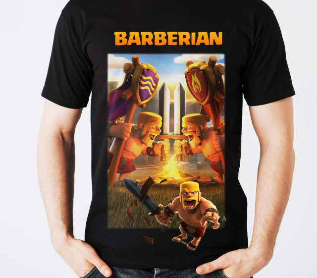 clash of clans tshirts