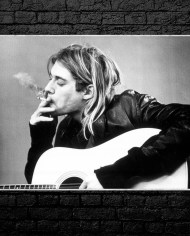 Kurt Cobain Wall Art NIRVANA Kurt Cobain Wall ART