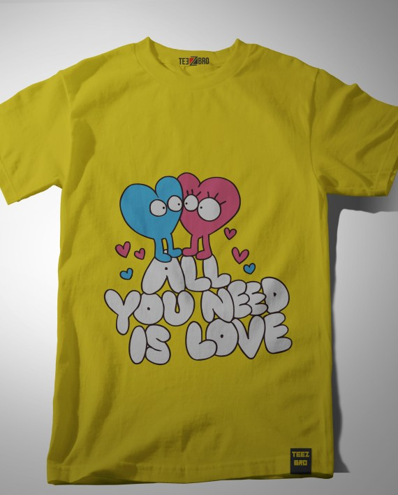 All you need is love tshirt Online