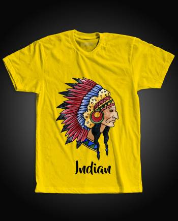 Red Indian Tshirt
