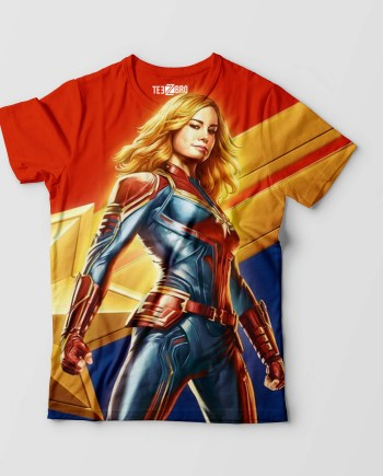 Captain Marvel Graphical Tshirts